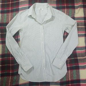 Uniqlo Tops - Uniqlo Women's Striped Button Down XS